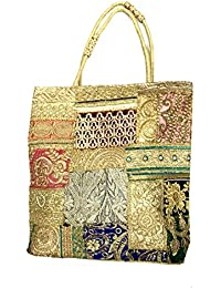 Shubhangi Women's Shoulder Bag (Jaipuri Embridered Handicraft Traditional Handbags,stylish Traditional Bag,Multi-Coloured... - B079KRMRH2