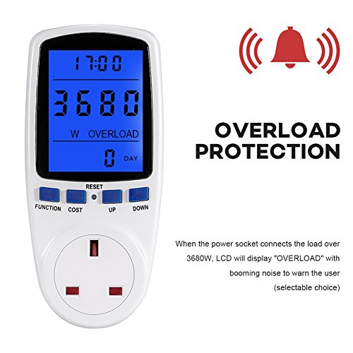 UK-Plug-Power-Meter-Energy-Voltage-Amps-Watt-Electricity-Usage-Monitor-Analyzer-with-Digital-LCD-Display-Reduce-Your-Energy-Costs-230V