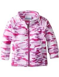 Columbia bebé niñas 'Benton Springs II impreso chaqueta de forro polar