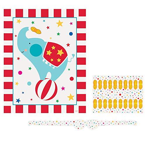 Unique Party 72477 Wimpelkette, Karneval, Zirkus, Party, Geburtstag, 335 cm
