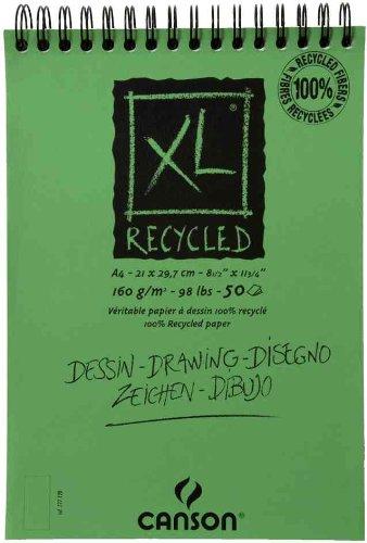 Canson cuaderno de dibujo XL RECICLADO bloc de dibujo A3
