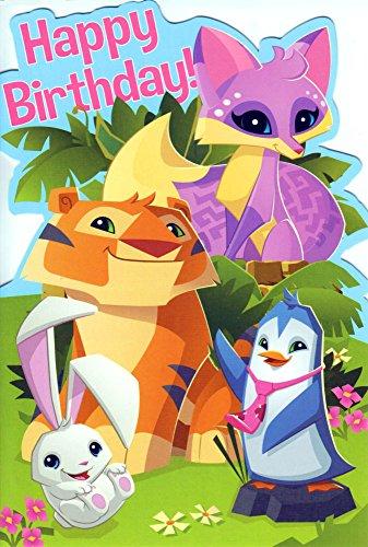 Official Animal Jam Happy Birthday Card