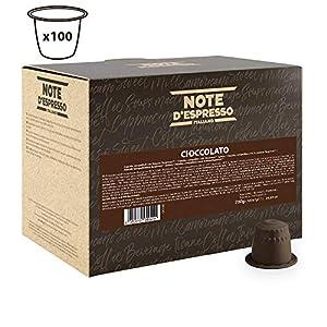 Note D'Espresso Preparato Solubile per Bevanda al Gusto di Cioccolato in Capsule Compatibili con Sistema Nespresso - 700…
