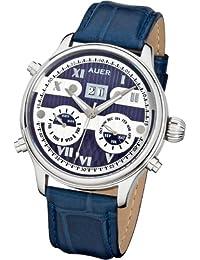 AUER Classic Collection BA-513-BluSBluL Reloj Automático para hombres Clásico & sencillo