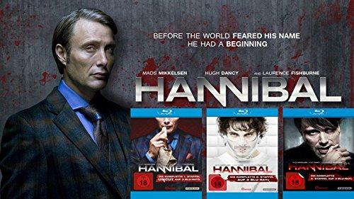 Hannibal Collection - Die komplette 1. - 3. Staffel (9-Blu-ray) Kein Box-Set