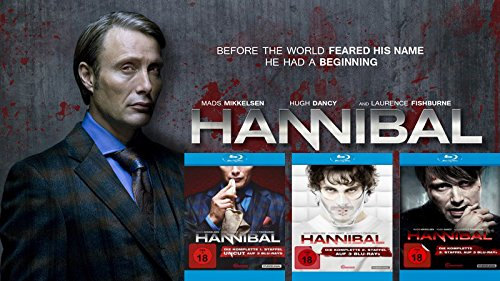 Hannibal Collection - Die komplette 1. - 3. Staffel (9-Blu-ray) Kein Box-Set (3 Bates Staffel Motel)