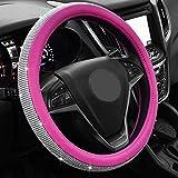 M&M MM Innere Abdeckung für Lenkrad von künstlichen Diamanten und Diamanten des Automobils, mit Griff Set für die Bohrmaschine Abdeckung des Lenkrad Unisex Optional