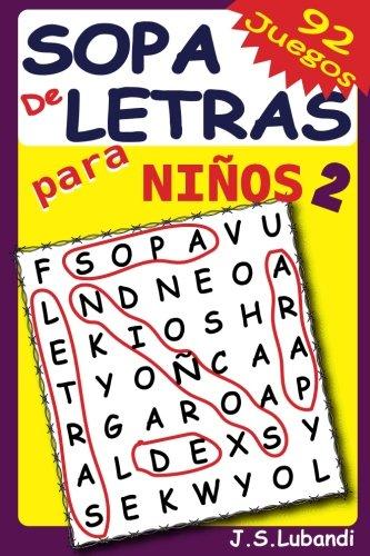 Sopa de Letras para Niños 2: Volume 2 por J S Lubandi