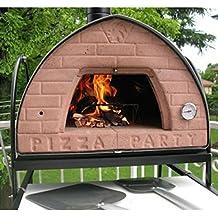 four a pizza a bois barbecue et repas en ext rieur jardin. Black Bedroom Furniture Sets. Home Design Ideas