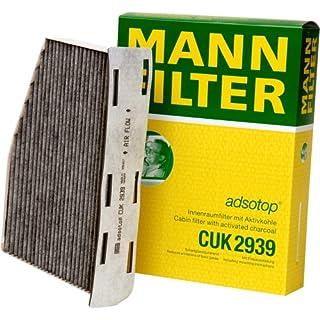 Original MANN-FILTER Innenraumfilter CUK 2939 – Pollenfilter mit Aktivkohle – Für PKW