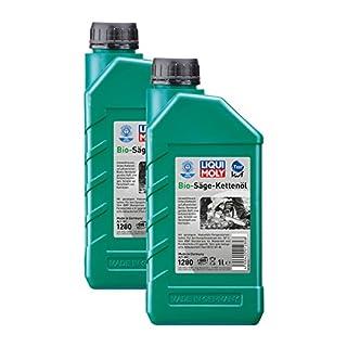 2x LIQUI MOLY 1280 Bio Säge-Kettenöl Pflanzliche Basis KWF geprüft 1L