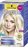 Schwarzkopf Blonde 10.21 Eiskristall-Blond aufhellung bis zu 4 Stufen, 1er Pack (1 x 145 ml)