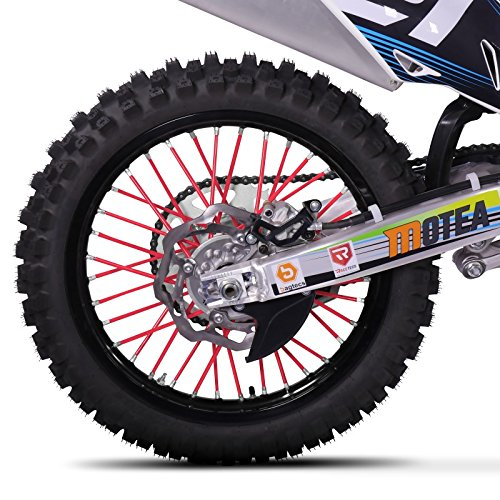 Speichencover Yamaha WR 125 R Racetecs SPX rot -