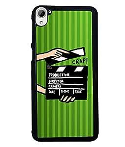 Fuson 2D Printed Designer back case cover for HTC Desire 826 - D4269