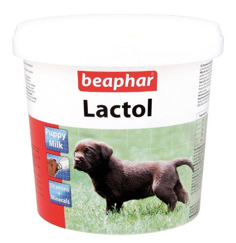 Beaphar Lactol Welpen Hund Katze Milch bewehrt Vitamin Milchpulver 1kg DE SOIN