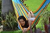 Mexikanische Netzhängematte Double wetterfest Rainbow thumbnail