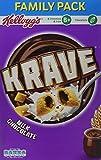 Kellogg's Krave Milk Chocolate Cereal 650 g