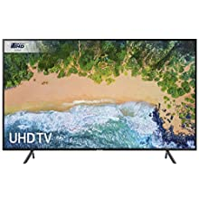 Samsung UE49NU7100 49-Inch 4K Ultra HD Certified HDR Smart TV - Charcoal Black (2018 Model) [Energy Class A]