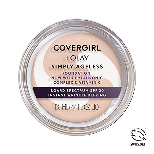 COVERGIRL - Olay Simply Ageless Foundation Creamy Natural - 0.4 oz. (12 g)