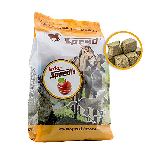Speed LeckerSpeedis Apfel – Pferdeleckerlis, das gesunde Leckerli für die Belohnung mit wichtigen Vitaminen (1 Kg)