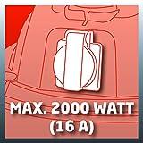 Einhell Nass Trockensauger TH-VC 1930 SA (1500 W, 190 mbar, 30 l, Edelstahlbehälter, 2,5 m Saugschlauch, Geräte-Steckdose, umfangreiches Zubehör) -