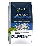 Bostik 3081252625kg Cempolay extrastarker, selbstglättender Verbundstoff,Grau