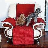 Pet divano copertura impermeabile antiscivolo Protezione alla moda di peli, singolo Dog 1posti copri sedia panno