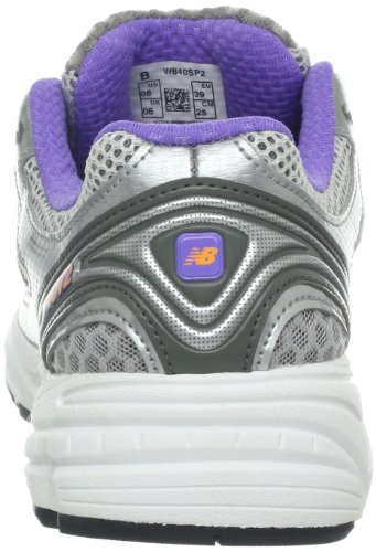 New Balance W840 Breit Textile Laufschuh Silver with Pink