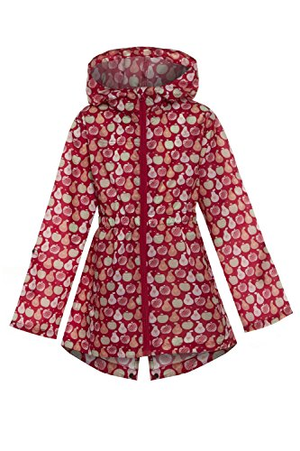 MyShoeStore Kids Children Boys Girls Rain Mac Outdoor Kagoul Kagool Cagoule KAG Raincoat Festival Showerproof Rain Coat Fishtail Festival Parka Hooded Lightweight Shower Proof Jacket