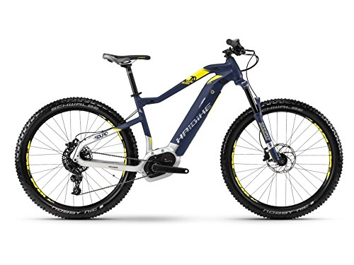 Haibike SDURO HardSeven 7.0 E-Bike 500Wh E-Mountainbike blau/citron/silber matt