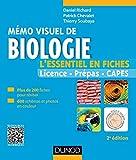 Image de Mémo visuel de biologie - 2e édition : L'essentiel en fiches (Tout l