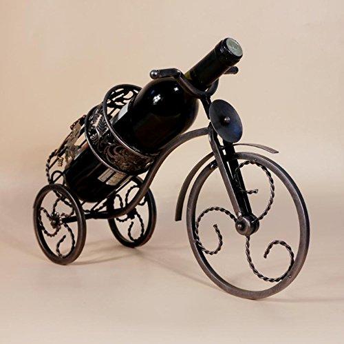 Winerack wineracks Weinregalen Wein Rack Dreirad gehobenen Rattan Rattan europäischen Wein Rack Weinregal kupfer