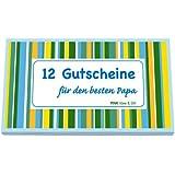 RNK Verlag Gutscheinheft ´Für den besten Papa´, farbig