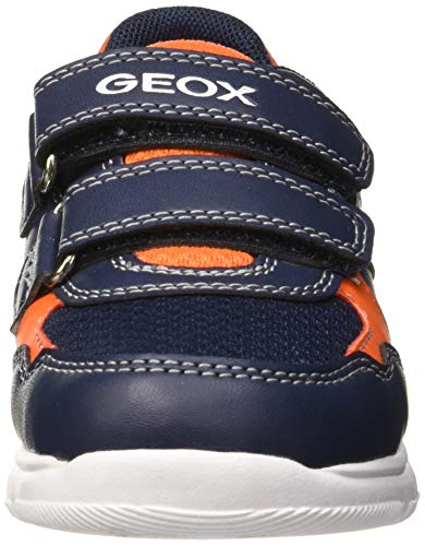 Dettagli su (TG. 21 EU) Geox B Xunday Boy B, Scarpe da Ginnastica Basse Bimbo, Blu (NavyOra