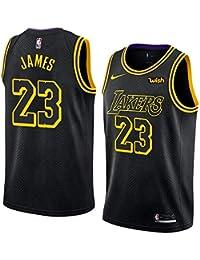 canottejerseyNBA Maglia da Basket di Los Angeles Lakers Lebron James Uomo  Cucita in Mesh Traspirante   8025e1754af0