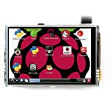 LANDZO 3.5 Inch Touch Screen for Raspberry Pi 2 Model B Pi 3 with Touch Pen