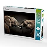 Two Elephants 1000 Teile Puzzle quer
