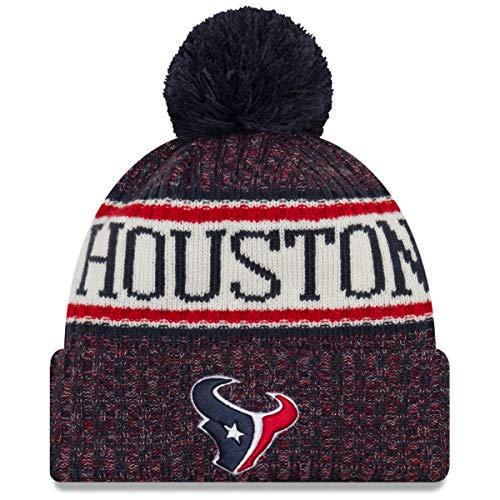 New Era - Houston Texans Beanie - on Field 2018 Sport OTC Knit - Navy/Red Houston Texans Beanie on Field 2018 Sport OTC Knit - One-Size