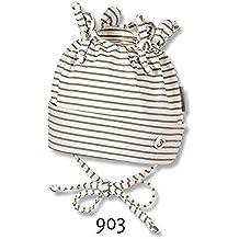 Sterntaler - Baby Mädchen Zipfelmütze Knotenmütze zum Binden, 4001635 Gr. 45