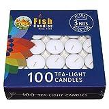 #2: Nanki Trades Wax Tea Light Candle (White, Set of 100)