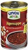 Unox Konzentrat Jäger Suppe 3 Teller, 6er-Pack (6 x 382 ml)