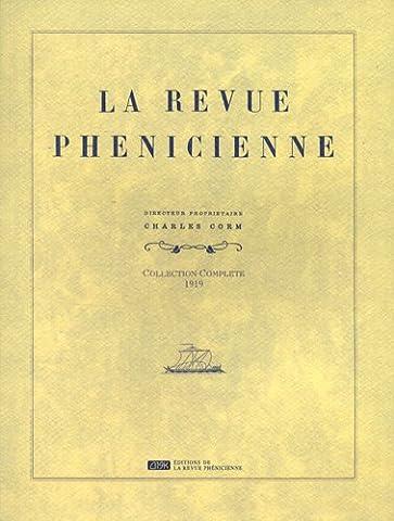 La Revue phénicienne : Collection complète 1919