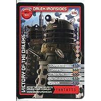 Doctor Who Monster Invasion Card #126 Dalek Ironsides