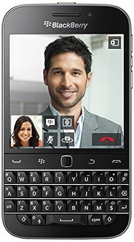 BlackBerry Classic Smartphone débloqué (Ecran: 3.5 pouces) Noir (import Italie)
