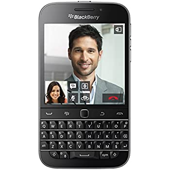 BlackBerry Classic Smartphone, 16 GB, Nero/Antracite [Italia]
