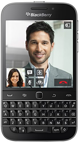 BlackBerry Classic - Smartphone de 3.5' (Qualcomm MSM 8960 1.5 GHz, cámara de 8 MP, S.O. BlackBerry 10, teclado QWERTY)