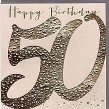Suchergebnis Auf Amazon De Fur Gluckwunschkarten 50 Geburtstag