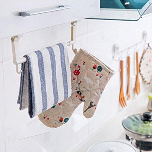 HCFKJ Toilettenpapierhalter Badezimmer Kunststoff KüChe Handtuch Gesichts Rack HäNge TüRhäNger