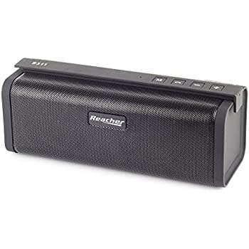 reacher portable bluetooth speaker portable lautsprecher with fm radio built in mic and support. Black Bedroom Furniture Sets. Home Design Ideas