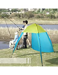 begorey Nuevo pabellón de Portable playa el sol sombra pesca tienda camping al aire libre senderismo